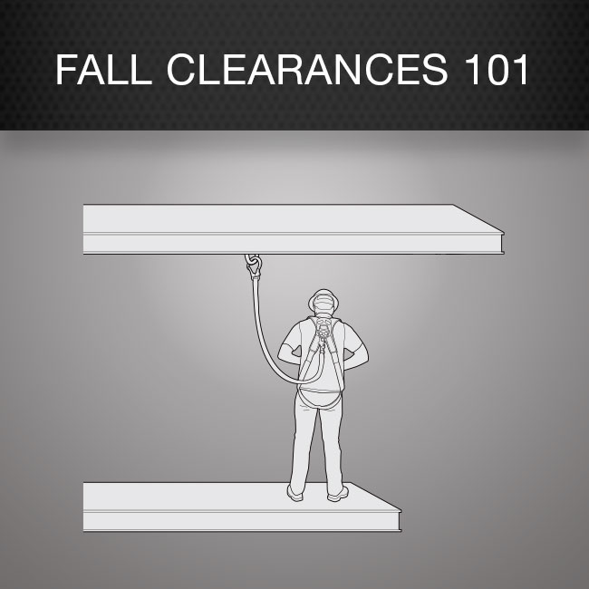 Fall Protection Fall Clearances by Columbia Safety and Supply