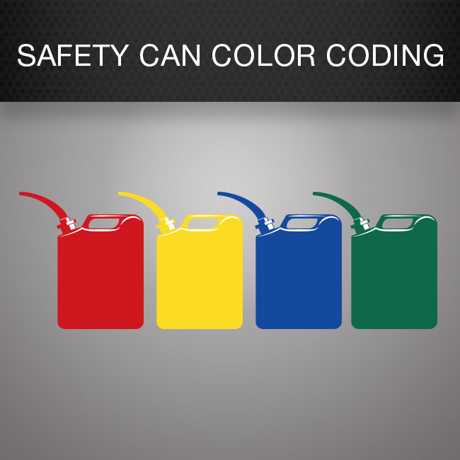 Safety Can Color Coding 101 by Columbia Safety and Supply