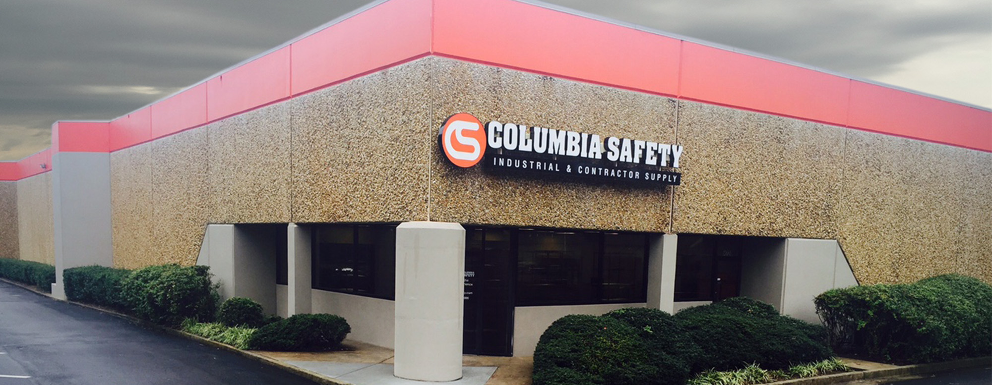 Columbia Safety and Supply's Storefront & Distribution Center located in Atlanta, GA
