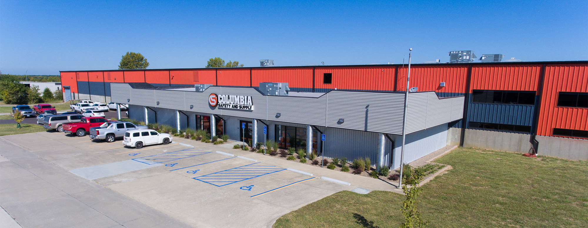 Columbia Safety and Supply's Global Flagship Store located in Columbia, MO