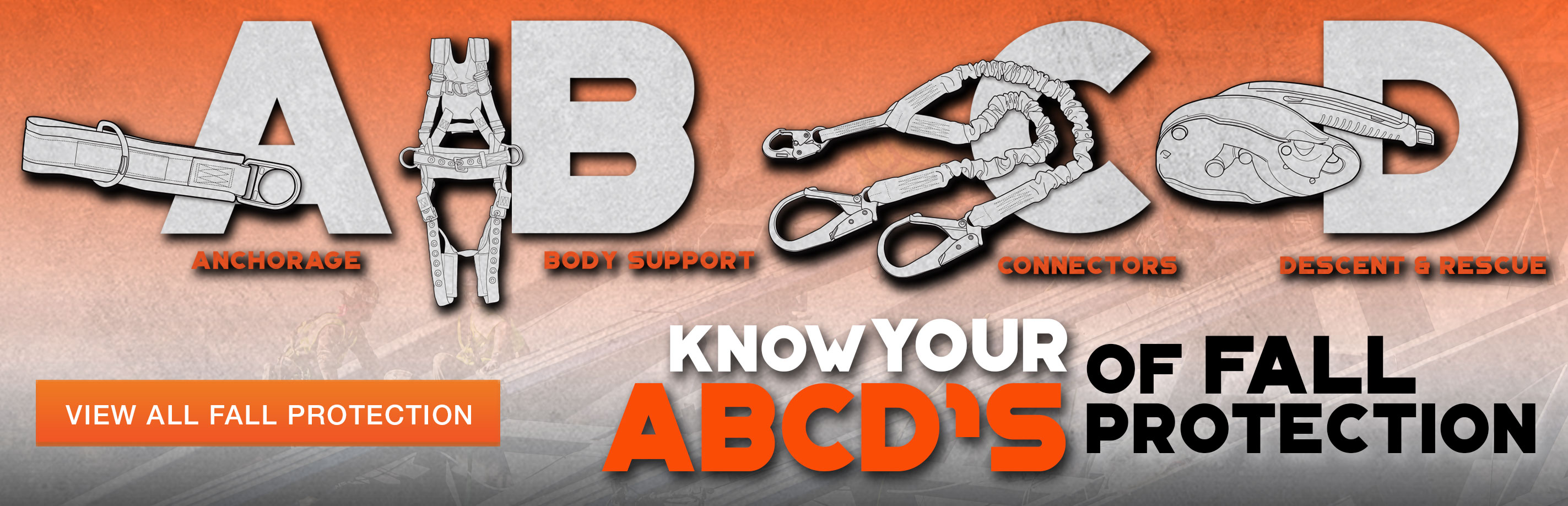 The ABCDs of fall protection at Columbia Safety and Supply