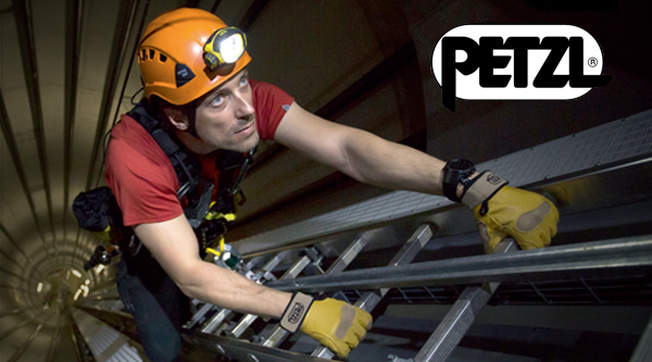 Petzl gear from Columbia Safety and Supply