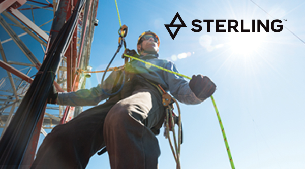 Sterling Rope gear from Columbia Safety and Supply
