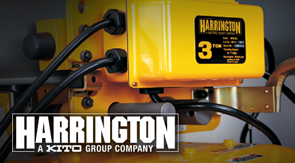 Harrington Hoists gear from Columbia Safety and Supply