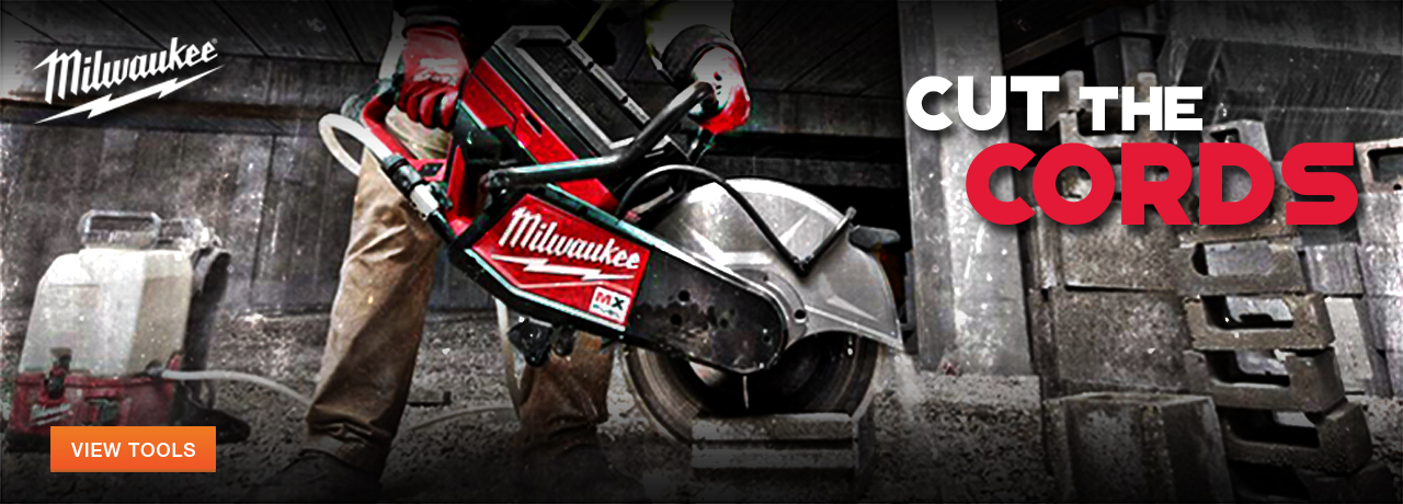 Power and hand tools from Milwaukee Tool at Columbia Safety and Supply