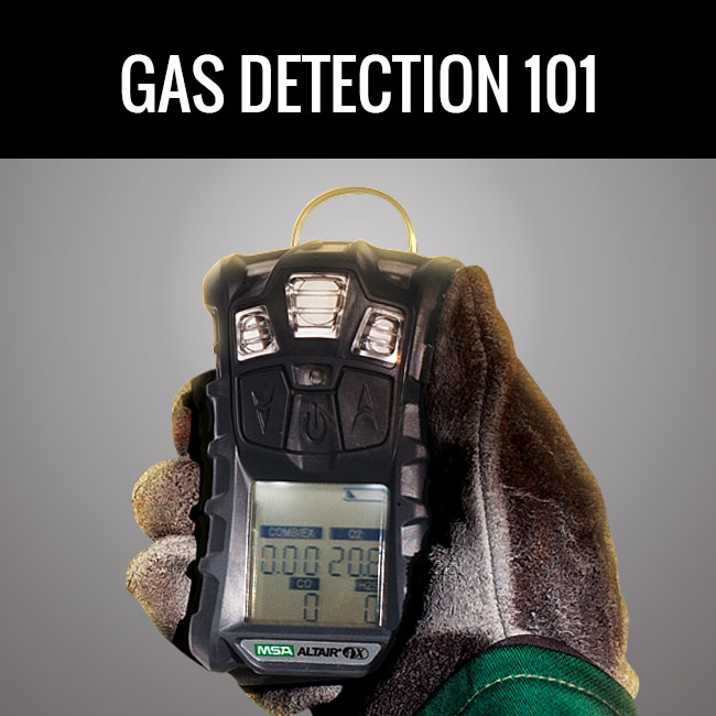 Gas Detection 101 by Columbia Safety and Supply