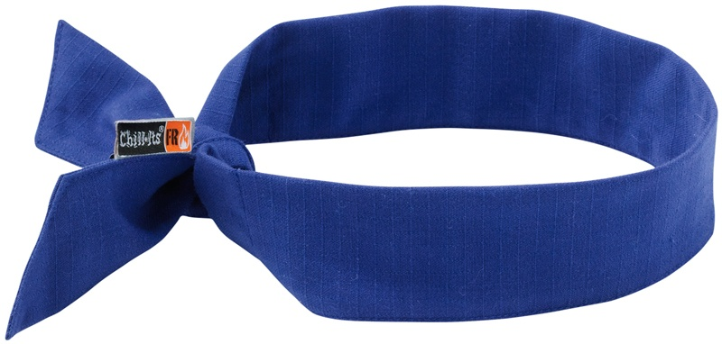 Chill-Its Evaporative FR Cooling Bandanas tie from Columbia Safety