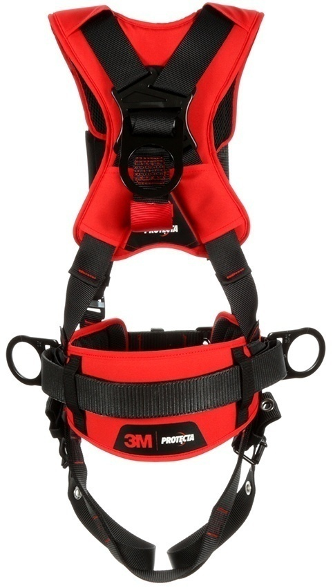 Protecta Comfort Construction Style Positiong Harness with Pass-Thru Chest from Columbia Safety
