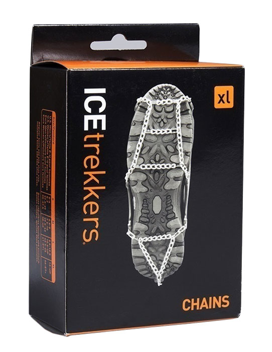 IceTrekkers Chains Traction Cleats from Columbia Safety