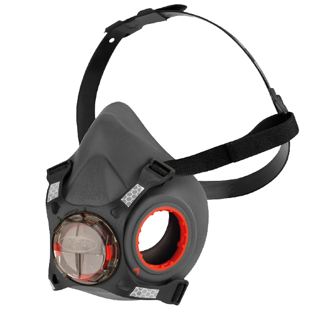 JSP Force Typhoon 8 Half-Mask from Columbia Safety