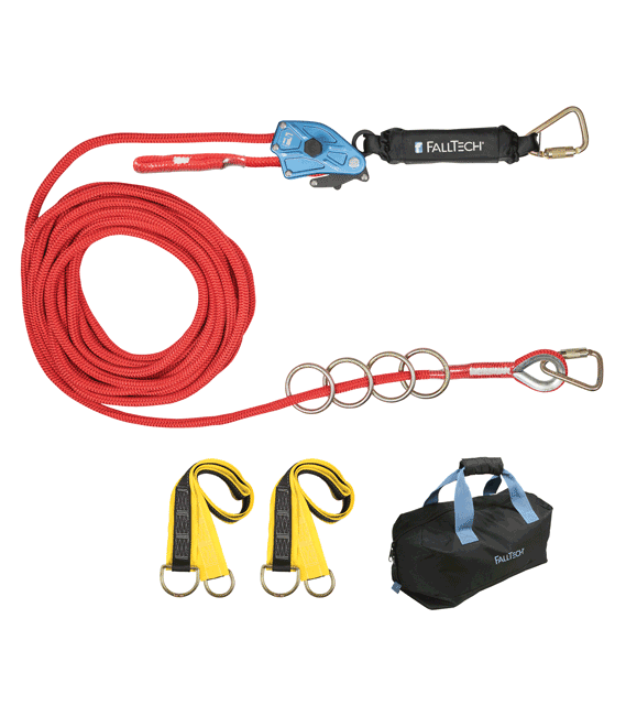 FallTech Horizontal Lifeline Kit (4 Person) from Columbia Safety