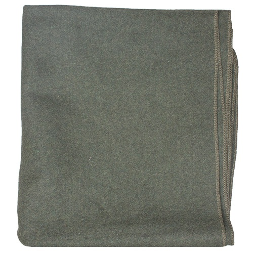 Fox Outdoor GI Style Wool Blanket from Columbia Safety