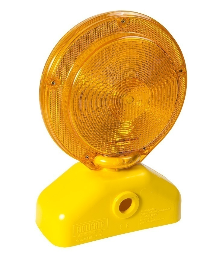 Checkers Economy Barricade Light - 3 Volt from Columbia Safety