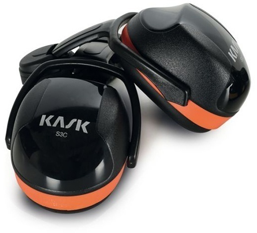 Kask SC3 Orange Ear Muffs from Columbia Safety