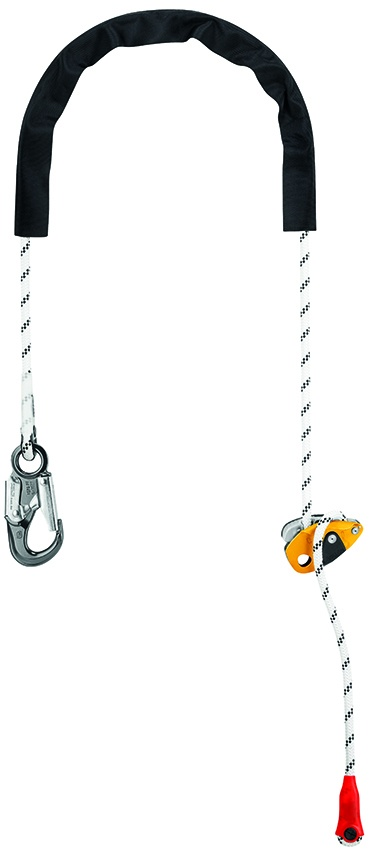 Petzl L052CA GRILLON HOOK U Adjustable Positioning Lanyard from Columbia Safety