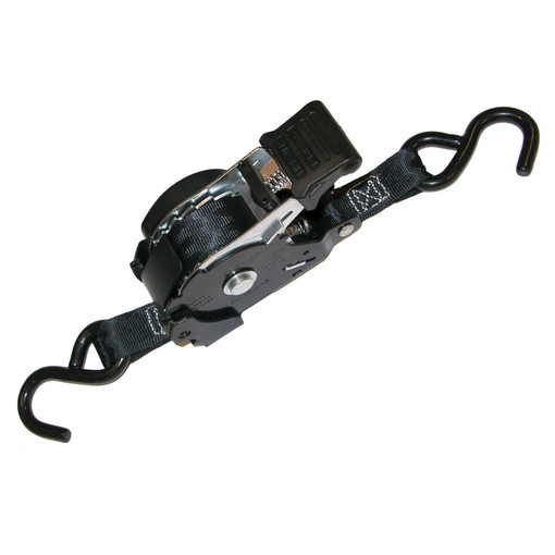 Retractable Ratchet Straps >> Liftall 1 X 12 Retractable Ratchet Tiedown Assembly 2 Pack