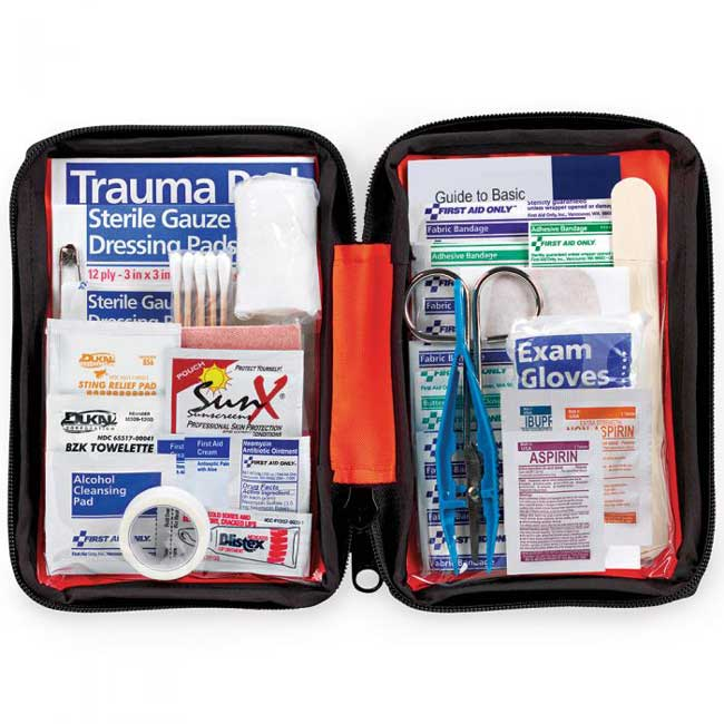 First Aid Only Outdoor 107 Piece First Aid Kit from Columbia Safety