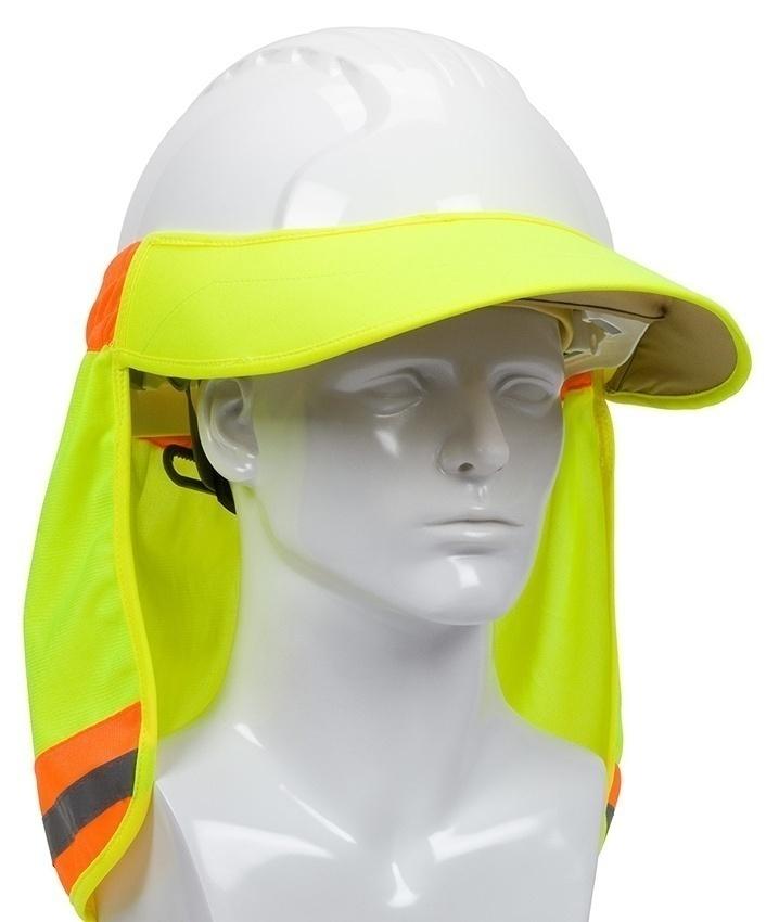 PIP 396-800 Hi-Vis Hard Hat Visor and Neck Shade