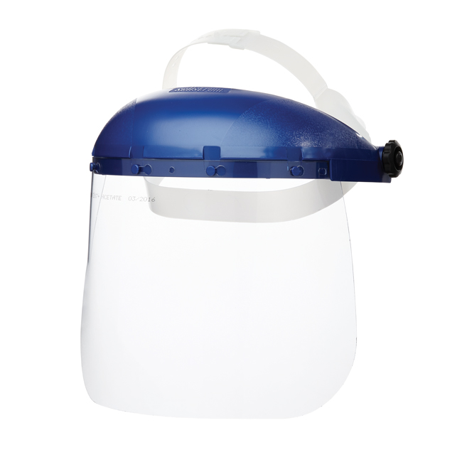 The Surewerx 390 face shield is an excellent face shield with lightweight and high strength design. from Columbia Safety