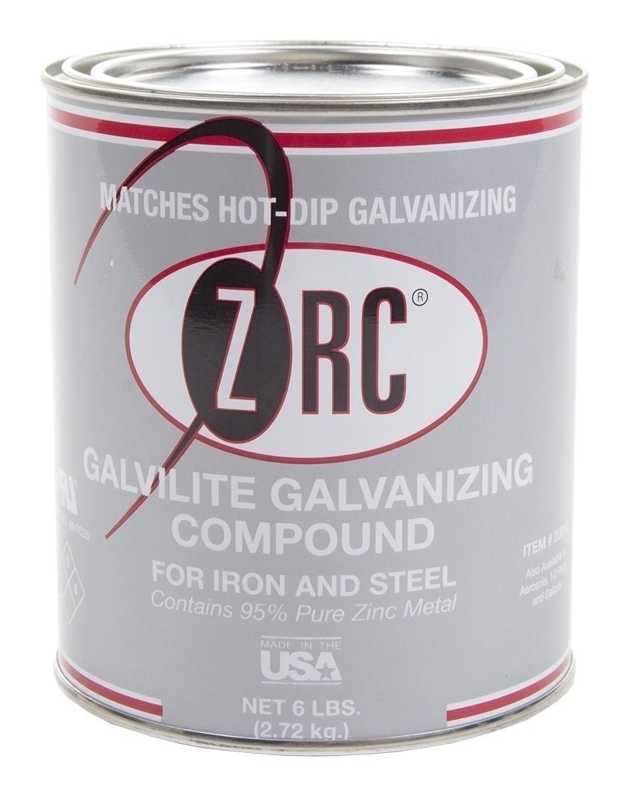 ZRC Galvilite Bright Silver Cold Galvanizing - 1 Quart